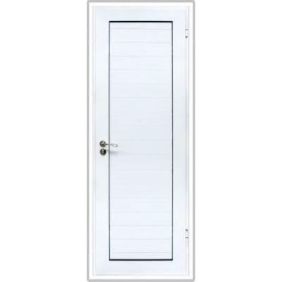 Алуминиева врата бяла