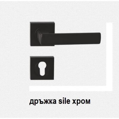 дръжки за врата Sile хром