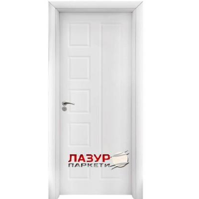 интериорна врата 048 P бяла