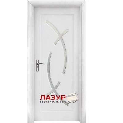 интериорна врата 056 бяла