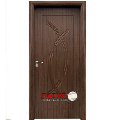 интериорна врата 056 P орех