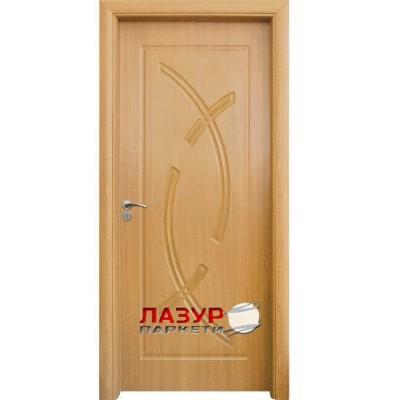 интериорна врата 056 P светъл дъб