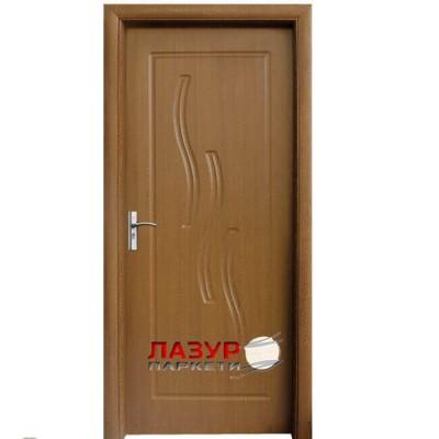 интериорна врата 014 P златен дъб