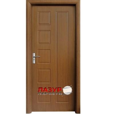 интериорна врата 048 P златен дъб