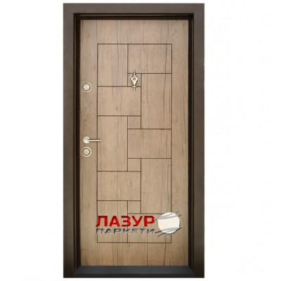 Блиндирана входна врата  Т100 Антик