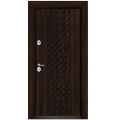 Блиндирана входна врата  T 1001 венге