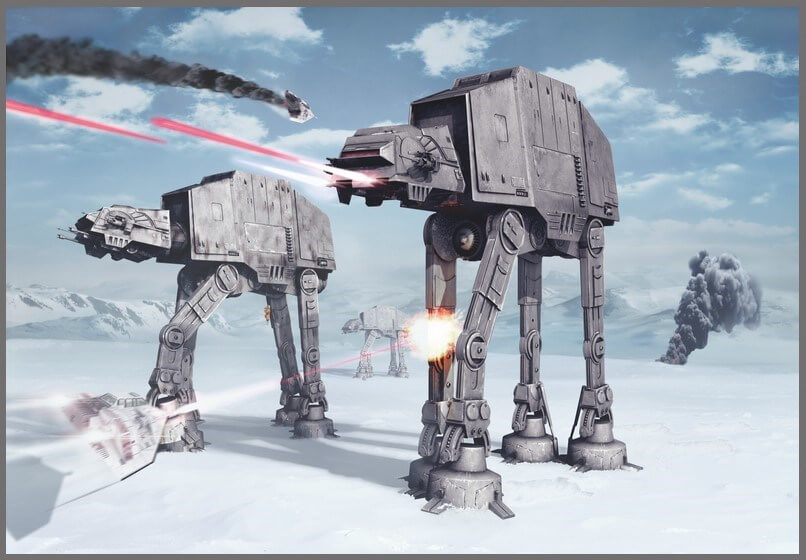 Фототапет SW №8-481 BATTLE OF HOTH